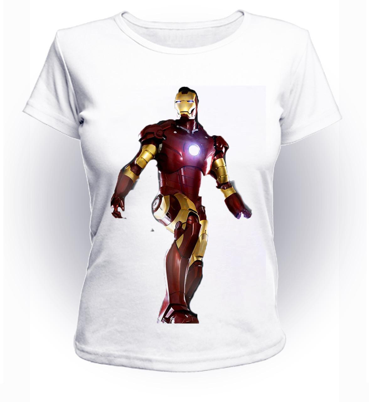 Футболка женская S GeekLand Железный Человек Iron Man art IM.01.070
