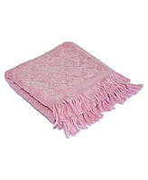 Полотенце бамбуковое 30х70см розовый