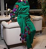 Вишитий дизайнерський костюм, фото 3