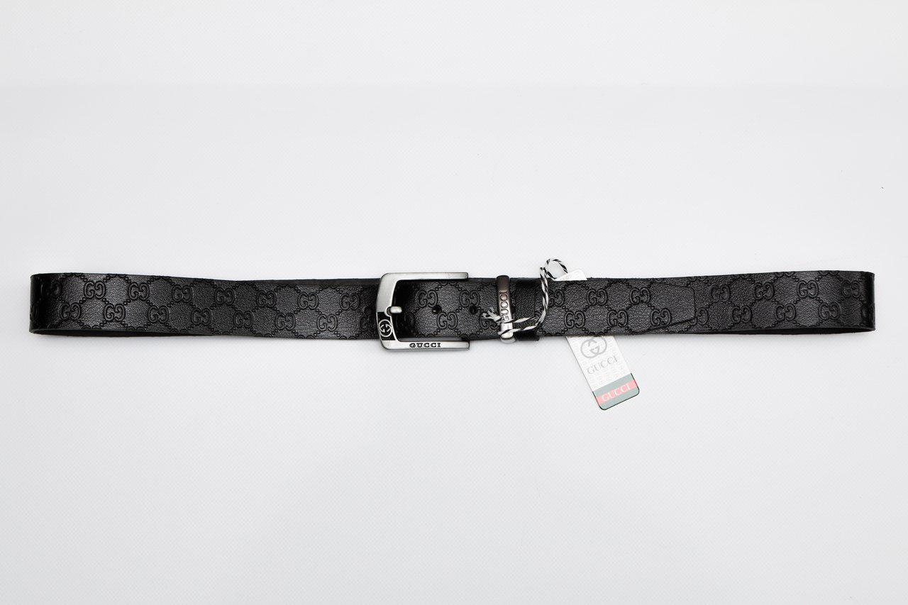 Мужской/женский кожаный ремень, Гуччи (Gucci)