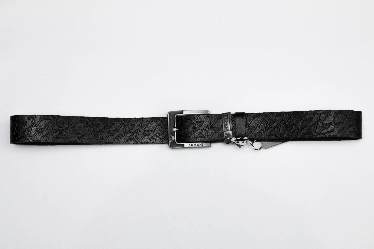 Мужской/женский кожаный ремень, армани