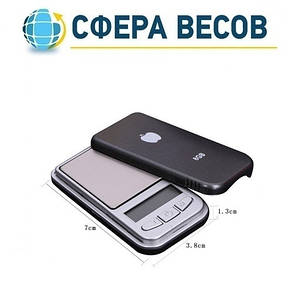 Весы ювелирные 6202/MINI SCALE (200г), фото 2