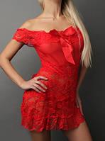 311bc180537 Lace Secret - Магазин женского белья и одежды. г. Киев. 99% положительных  отзывов. (122 отзыва) · Кружевной красный пеньюар с лентами П-649