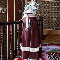 Дизайнерський вишитий костюм, фото 1