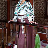 Дизайнерський вишитий костюм, фото 3