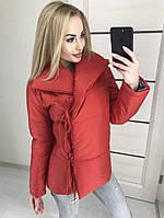 Куртка  женская ,  зима-весна  на завязках ! , фото 1
