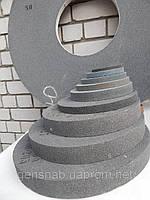 Круг шлифовальный 14А (электрокорунд серый) ПП на керамической связке 450х63х203 40 СМ