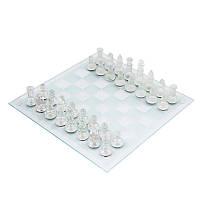 Набор шахмат из стекла