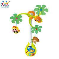 """Музыкальный мобиль Huile Toys """"Веселый остров"""" (818)"""
