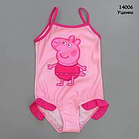 Купальник Peppa Pig для девочки. Маломерит. 128-134 см, фото 1