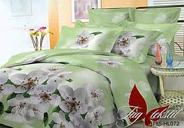 Комплект постельного белья ТМ TAG 1,5-спальный, постельное белье полуторка 3D HL072
