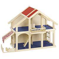 Кукольный домик goki 2 этажа с внутренним двориком 51893G