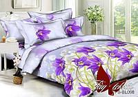 Комплект постельного белья ТМ TAG 1,5-спальный, постельное белье полуторка PS-BL098