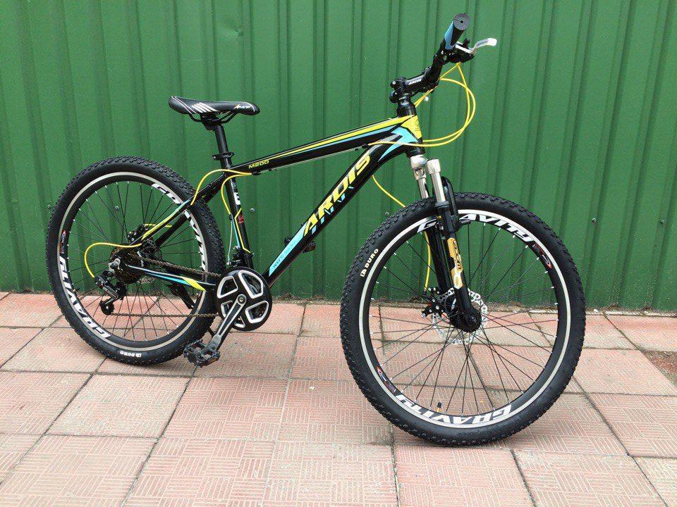 """Горный велосипед ARDIS M20D  26"""" 16,5""""   Черный/Желтый"""
