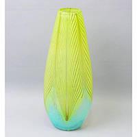 Ваза из цветного стекла  V7711
