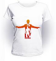 Футболка женская размер L GeekLand Железный Человек Iron Man в человеке Аrt IM.01.022