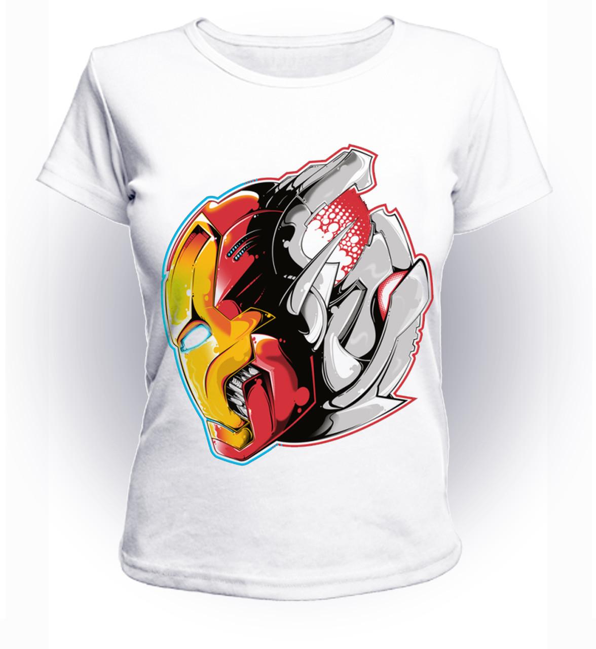 Футболка женская размер L GeekLand Железный Человек Iron Man и Альтрон art IM.01.061
