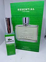 EssentialLacoste мини парфюм 40 мл книжка