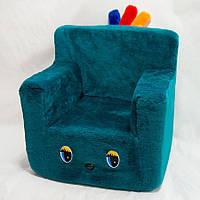 Детский стульчик бирюзовый