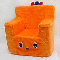 Детский стульчик оранжевый