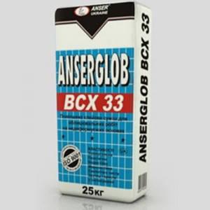 BCX-33 25кг. Клей для керамической плитки зима