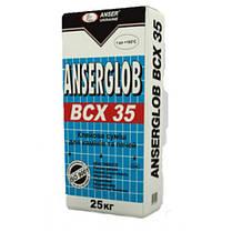 BCX-35 25кг. Клей для каминов и печей ANSERGLOB