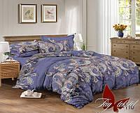 Комплект постельного белья ТМ TAG 1,5-спальный, постельное белье полуторка S-110