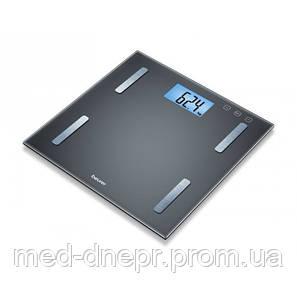 Диагностические весы c большим дисплеем и синей подсветкой Beurer BF 180
