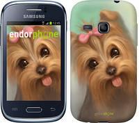"""Чехол на Samsung Galaxy Young S6310 / S6312 Нарисованный йоркширский терьер """"928u-252-7794"""""""
