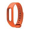 Оригинальный ремешок для фитнес-браслета Xiaomi Mi Band 2 оранжевый