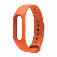 Оригинальный ремешок для фитнес-браслета Xiaomi Mi Band 2 оранжевый, фото 1