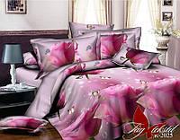 Комплект постельного белья ТМ TAG 1,5-спальный, постельное белье полуторка R2025