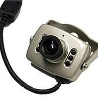 Миниатюрная цветная камера видеонаблюдения CCTV 208. Высокое качество. Практичный дизайн. Купить. Код: КДН2975