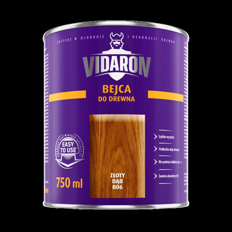 Vidaron Бейц для дерева (В06) 0,75 л золотий дуб
