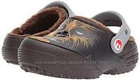 Crocs Кроксы теплые c6 EUR 22 23 стелька 14, 5 см
