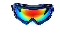 Маска (очки) горнолыжная SPARK (черный)