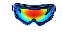Маска-очки горнолыжная SPARK, поликарбонат, черный (Spark-(blk)), фото 1
