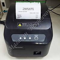 Принтер печати чеков с автообрезчиком XP-Q200II 80мм (200 мм/сек)