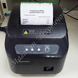 Принтер печати чеков с автообрезчиком XP-Q200II 80мм (200 мм/сек) USB