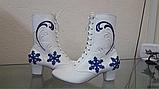 Вишите взуття для Снігурки, фото 2