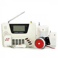 Качественная GSM сигнализация для дома с датчиком движения. Интеллектуальная охранная GSM-система Код: КДН2976