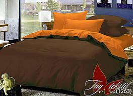 Комплект постельного белья ТМ TAG двухспальный, постельное белье двухспальное P-1235(1263)