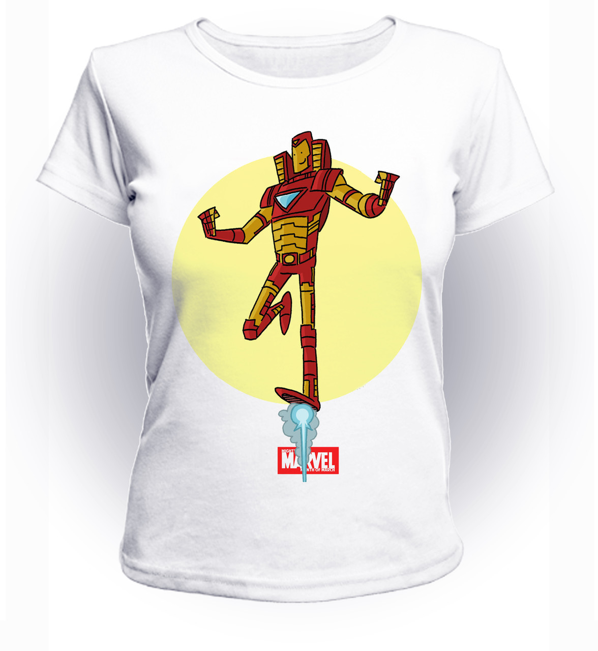 Футболка женская GeekLand Железный Человек Iron Man sun art IM.01.033