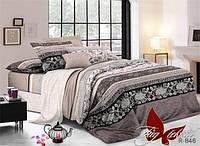 Комплект постельного белья ТМ TAG двухспальный, постельное белье двухспальное R846