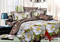 Комплект постельного белья ТМ TAG двухспальный, постельное белье двухспальное с компаньоном R716