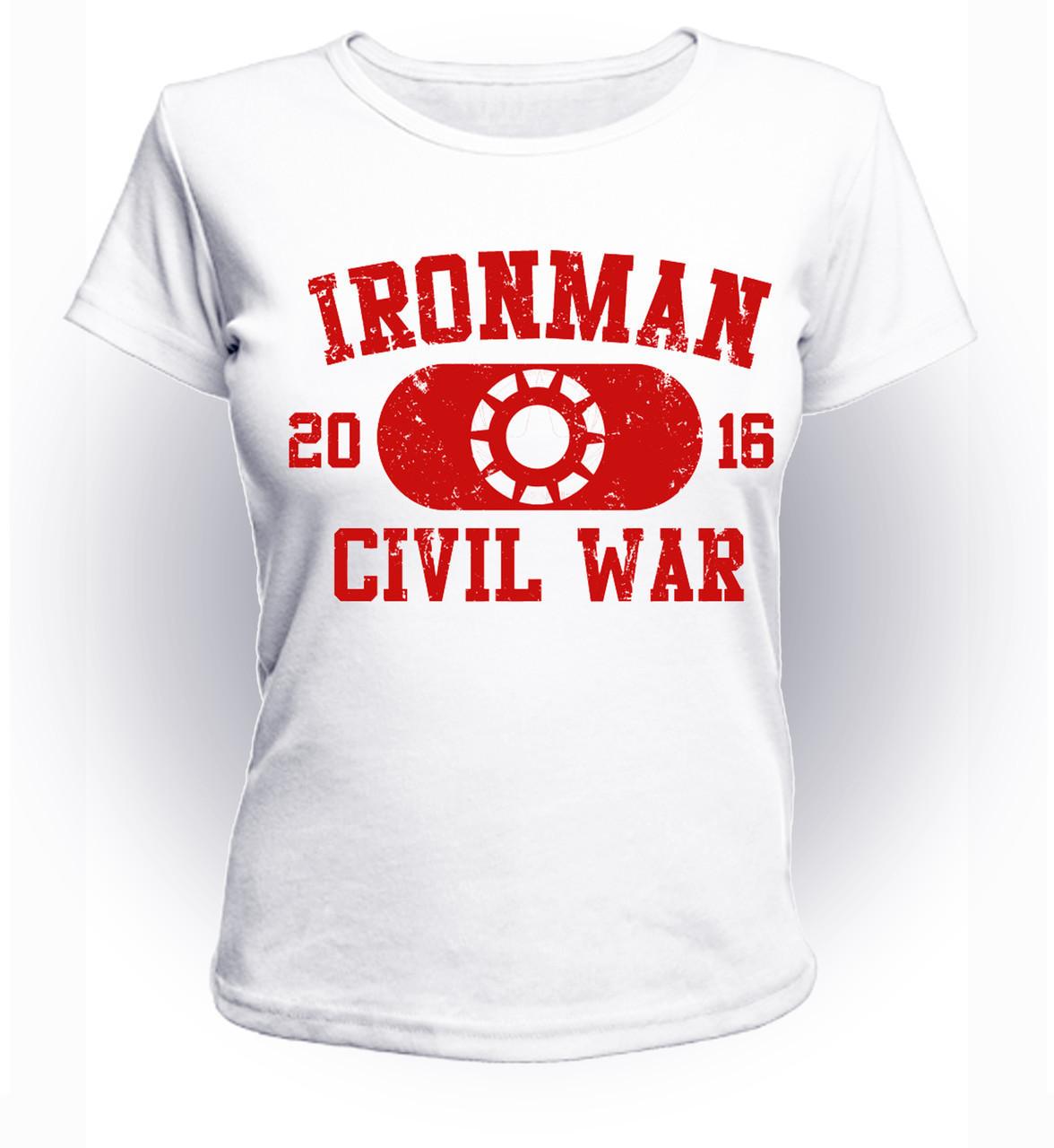 Футболка женская GeekLand Железный Человек Iron Man 2016 art IM.01.047
