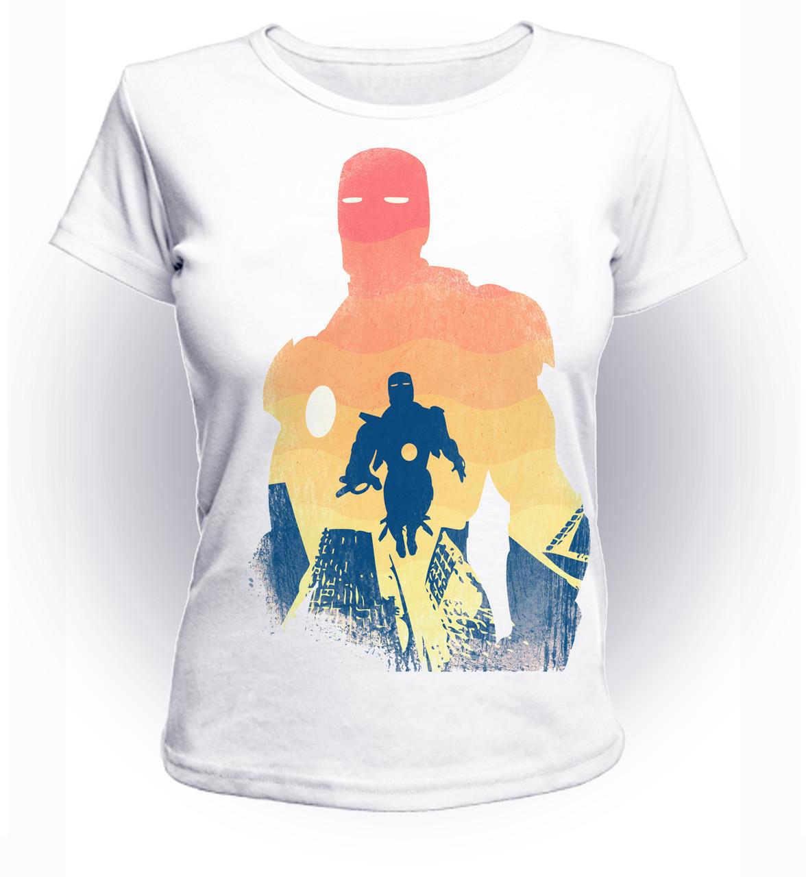 Футболка женская GeekLand Железный Человек Iron Man Альтер Эго миллиардера art IM.01.054