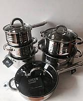 Набір каструль SwissHaus (12 предметів), арт. SH1255, фото 1