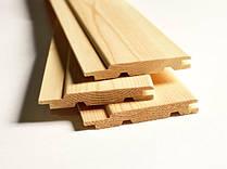 Вагонка деревянная плоская 0,07х3м (1пол.=0,21кв.м)