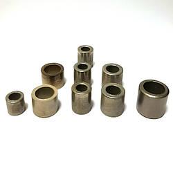 Втулки цилиндрические (железомедьграфит, железобронзографит)